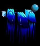 Cavo di World Wide Web Fotografia Stock Libera da Diritti