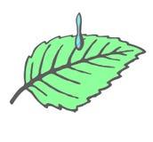 Cavo e una goccia illustrazione vettoriale