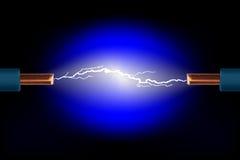 Cavo elettrico Immagini Stock