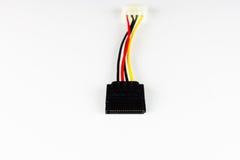 Cavo elettrico di SATA Immagine Stock
