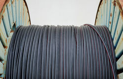 Cavo a fibre ottiche Fotografia Stock