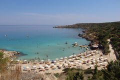 Cavo Greco. Cape Cavo Greco, Famagusta, Cyprus Royalty Free Stock Photos