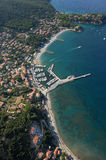 Cavo harbour-Elba island Stock Photo