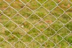 Cavo Mesh Fence Close-Up Fotografia Stock Libera da Diritti