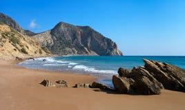 Cavo Paradiso beach Royalty Free Stock Photos