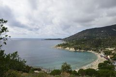 Cavoli gulf and beach, Elba Royalty Free Stock Photo