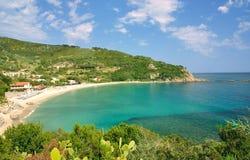 Cavoli, het Eiland van Elba, Toscanië, Italië stock foto