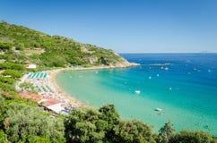 Cavoli, isla de Elba Foto de archivo