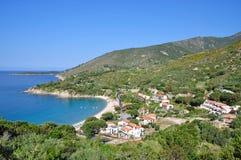 Cavoli, isola dell'Elba Fotografie Stock