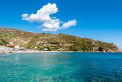 Cavoli, Isola a Ilha de Elba Imagem de Stock Royalty Free