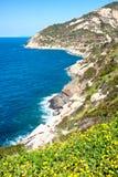 Cavoli Strand, Insel von Elba, Italien stockfoto