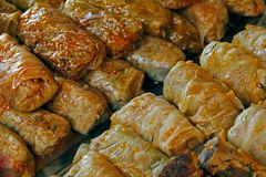 Cavolo cucinato. Alimento rumeno tradizionale. fotografia stock libera da diritti