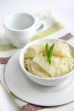 Cavolo marinato con aglio Fotografia Stock Libera da Diritti