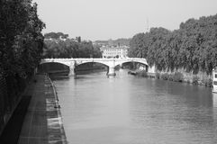 Cavour bridge Royalty Free Stock Photo