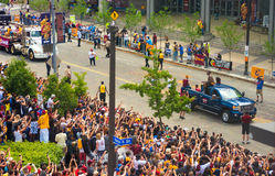Cavs Parade - JR Smith Royalty Free Stock Photography