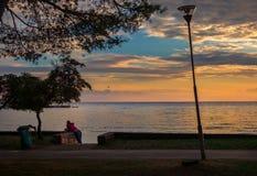 Cavtat海岸  杜布罗夫尼克市 克罗地亚 库存图片