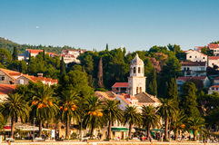Cavtat, χωριό παραλιών στην Κροατία στοκ φωτογραφία με δικαίωμα ελεύθερης χρήσης