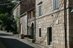 Cavtat, Хорватия Стоковое фото RF