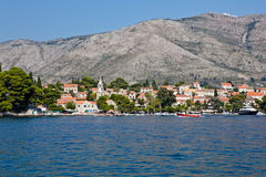 Cavtat alte Stadt - Kroatien Lizenzfreie Stockfotos