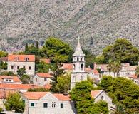 Cavtat alte Stadt - Kroatien Stockfotos