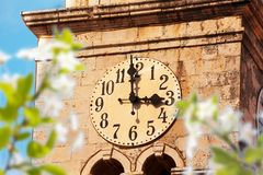 Cavtat clock tower Stock Images