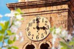 Cavtat clock tower Stock Images