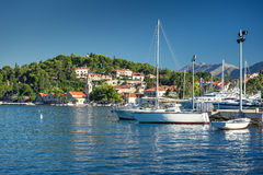 Cavtat in Croatia Royalty Free Stock Photos
