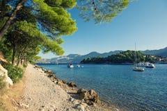 Cavtat in Croatia Royalty Free Stock Photography
