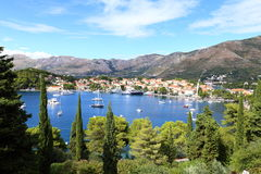 Cavtat, Croatia. Royalty Free Stock Image