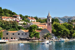 Cavtat Croatie photo libre de droits