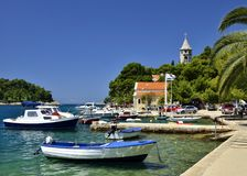 Cavtat, Dalmazia - Croazia fotografie stock libere da diritti