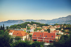 Cavtat en Croatie Photos stock