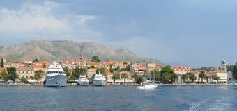 Cavtat-Hafen Kroatien Lizenzfreie Stockbilder