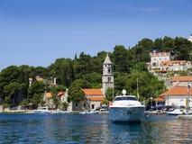 Cavtat i Kroatien Royaltyfri Fotografi