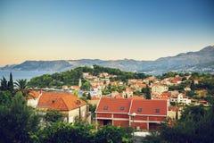 Cavtat in Kroatien Stockfotos