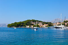 Cavtat old town - Croatia Stock Images