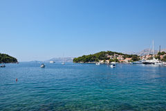 Cavtat old town - Croatia Royalty Free Stock Photography