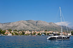 Cavtat old town - Croatia Stock Photography