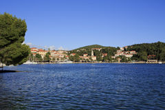 Cavtat shoreline Royalty Free Stock Photo