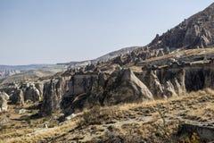 Cavusin Cappadocia arkivbilder