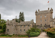 Cawdor Castle. Famous Scottish Cawdor Castle, known from Shakespeare's tragedy Macbeth Royalty Free Stock Images