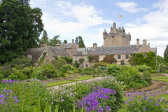 Cawdor Castle and gardens Stock Image