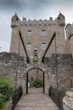Cawdor slottLT WB Royaltyfri Foto