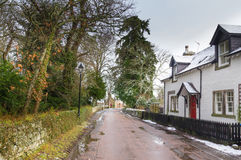 Cawdor village Royalty Free Stock Photography