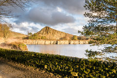 Cawfield Quarry on Hadrian's Wall Royalty Free Stock Photography