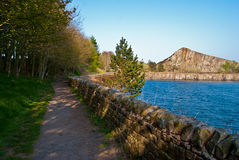 Cawfields Stock Image