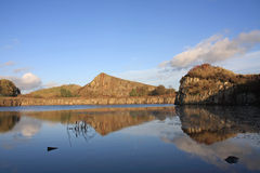 Cawfields Quarry Royalty Free Stock Photos
