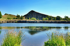 Cawfields Quarry by Hadrians Wall Royalty Free Stock Photos