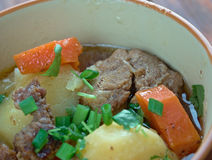 Cawl - Welsh dish. Royalty Free Stock Images