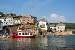Cawsand Cornwall Obrazy Royalty Free